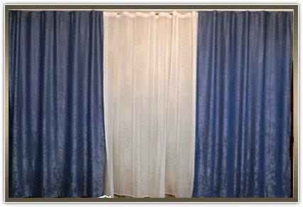 Комплект штор «Мікрософт синій колір»