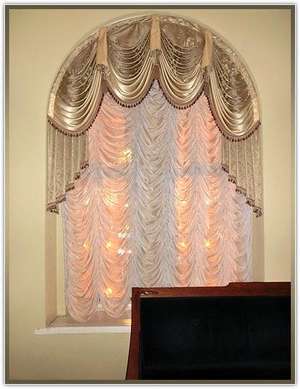 Пошив штор по идивидуальному заказу