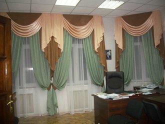 Продажа штор в кабинет