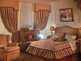 Шторы в спальню под заказ в Киеве
