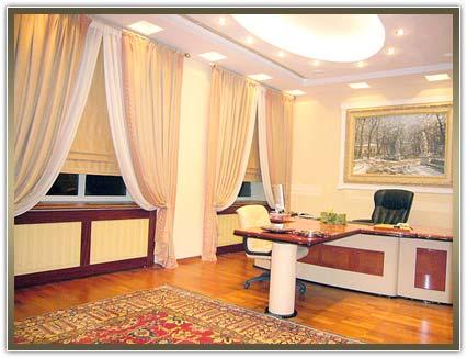 самые лучшие шторы в кабинет