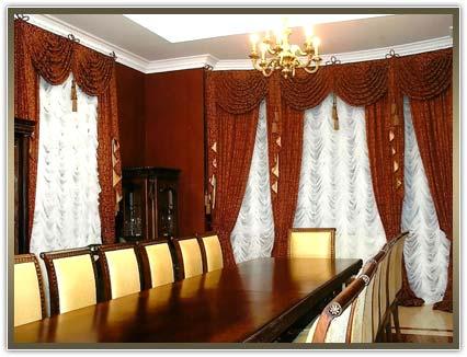 пошив штор и гардин в кабинет