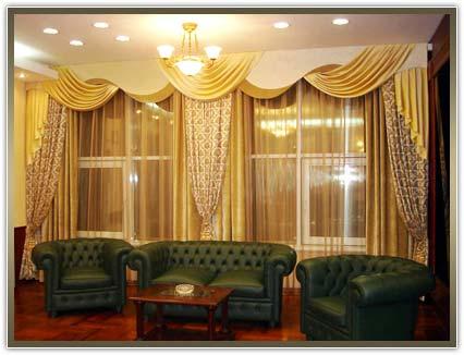 шторы в кабинет недорого