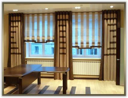 заказать шторы в кабинет