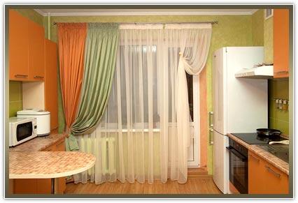 заказать шторы для кухни