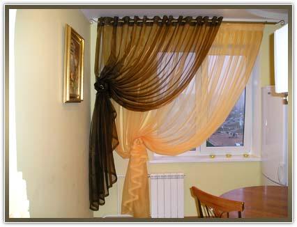 шторы на кухню по низким ценам