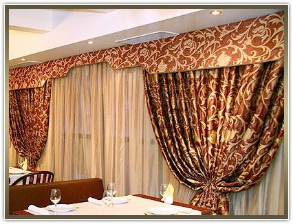 шторы для ресторанов продажа