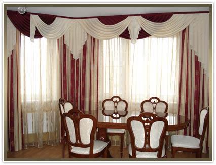 пошив штор и гардин в гостиную
