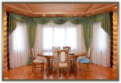 заказать шторы в гостиную