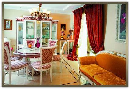 Индивидуальный пошив штор в гостиную