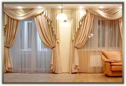 самые лучшие шторы в гостиную