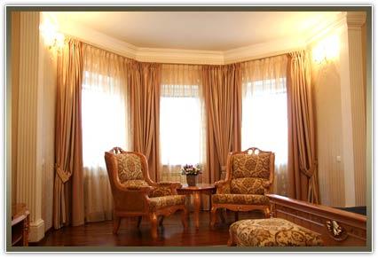 шторы в гостиную от компании ВП Гелиос